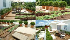 jardim com vasos - Pesquisa Google