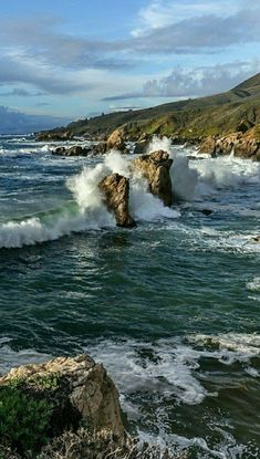 Scenery Pictures, Nature Pictures, Beautiful Pictures, Landscape Art, Landscape Photography, Nature Photography, Beautiful Ocean, Beautiful Beaches, Ocean Scenes