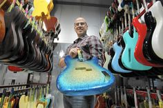 Made in California: Fender an instrument of change in guitar industry  Deep inside a cavernous factory in Corona, some legendary rock names gather nonchalantly along a wall.  http://www.latimes.com/business/la-fi-made-in-california-fender-20141112-story.html