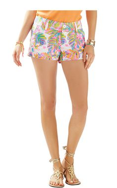 "Lilly Pulitzer 3"" Walsh Short in Summer Haze"