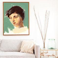 Lovely .  extra large wall art . giclee print