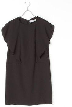 Cape design dress / ShopStyle(ショップスタイル): ビューティアンドユース ユナイテッドアローズ
