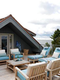 Rooftop Deck at Sarah Richardson's Summer House