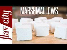 Homemade Marshmallow Recipe - How To Make Marshmallows - FlavCity with Bobby - YouTube