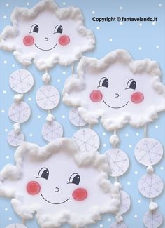 Snow Crafts, Bee Crafts, Diy And Crafts, Christmas Crafts, Paper Crafts, Art Games For Kids, Weather Crafts, Art Drawings For Kids, Winter Crafts For Kids
