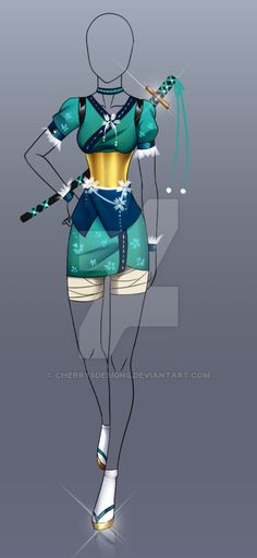 (closed) Auction Adopt - Outfit 201 by CherrysDesigns.deviantart.com on @DeviantArt