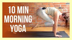 10 min SUNRISE Yoga for Energy - Morning Yoga Stretch NO PROPS Morning Yoga Stretches, Morning Yoga Flow, Yin Yang Yoga, Yin Yoga, Group Fitness, Wellness Fitness, 30 Day Challenge, Yoga Challenge, 10 Minute Morning Yoga