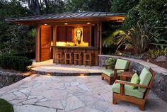 Best Tiki Bar.  design by Mill Valley Architects & Designers Brandaninni & Assco.