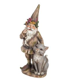 Look at this Gnomes Best Friend Statue on #zulily today!