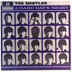 Beatles - A Hard Day's Night Beatles Photos, The Beatles, A Hard Days Night, Vinyl Records, Album Covers, Rock, Store, Movie Posters, Inspiration