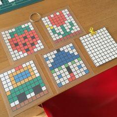 ずっと作りたかったこれを作りました マス塗り!! マス目を数えながら塗るので、見た目以上に難しいんですよね(^ ^) 次男のために作りました!! エクセルでマス目を作り、色を入れてプリントしたら、ダイソーのラミネートフィルムでラミネートして... Diy And Crafts, Crafts For Kids, Arts And Crafts, Koala Kids, Nursery School, Montessori Toys, Handicraft, Baby Kids, Classroom