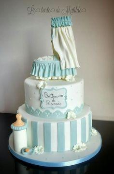 Il battesimo del piccolo Riccardo  - Cake by Matilde