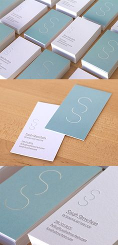 Understated But Highly Effective Pastel Minimalist Business Card Design - Businnes Cards