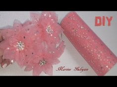 Diy Lace Ribbon Flowers, Cloth Flowers, Kanzashi Flowers, Diy Ribbon, Ribbon Crafts, Fabric Ribbon, Flower Crafts, Fabric Flowers, Fabric Flower Tutorial