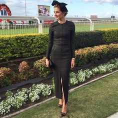 @katewaterhouse7 Stradbroke Day 2015  Thanks for a great day @brisbaneracingclub! Wearing @scanlantheodore @neridawinter #StradbrokeDay #brisbaneracingcarnival