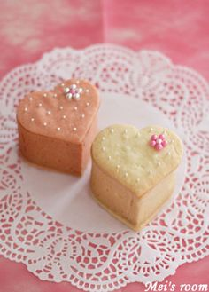 heart cookie box