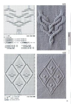 260 Knitting Pattern Book by Hitomi Shida 2016 — Yandex.Disk The Effective Pictures We Offer You Abo Cable Knitting Patterns, Knitting Stiches, Knitting Books, Knitting Charts, Knitting Designs, Knit Patterns, Knitting Projects, Stitch Patterns, Celtic Patterns