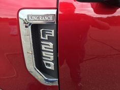 Inside the 2017 King Ranch: Ford& Super Duty trucks get . King Ranch Truck, Ford Super Duty, Ford Bronco, Trucks, Lighter, Engine, Vehicles, Interior, Life