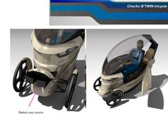 CherAn B'TWIN tricycle - STEP / IGES, SOLIDWORKS - 3D CAD model - GrabCAD
