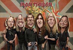 Iron Maiden  (by Sebastian Cast -Dibujante)