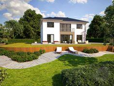 Eos 170 von Bärenhaus Wohnfläche gesamt165,50 m² Zimmeranzahl4 Stadtvilla| Walmdach  Fertighaus.de