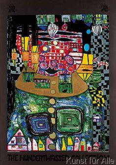 Friedensreich Hundertwasser - antipode king