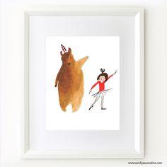 Dancing Bear || Sarah Jane Studios