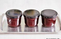 Sour Cherry Vanilla Jam