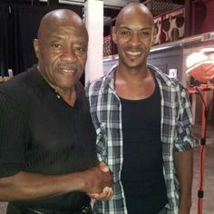 The famous Gilbert Young and I (Lateef An'akim Bates)