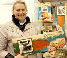 A blog by Simply Splendiferous introducing… Birgitta Curtin from the Burren Smokehouse Smokehouse, Salmon, Blog, Blogging, Atlantic Salmon, Trout