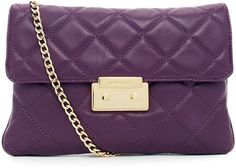 MICHAEL Michael Kors Sloan Quilted Clutch Bag