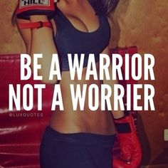 Be a warrior, not a worrier - Unknown - Tap the pin if you love super heroes too! Cause guess what? you will LOVE these super hero fitness shirts! Sport Motivation, Fitness Motivation Quotes, Daily Motivation, Health Motivation, Weight Loss Motivation, Motivation Inspiration, Weight Loss Tips, Fitness Inspiration, Style Inspiration