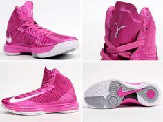 so cheap ,half off nikes,i want  Womens Nike Hyperdunk pink ribbon