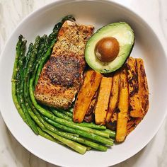 There is SO MUCH beauty in simplicity. This meal looks like so many meals weve made in our house and its stuff like this that makes doing Paleo/healthy eating a breeze. Thanks for sharing this #primalpalatespices meal inspiration and PIC @berniesbalance i really need more salmon in my life because tonights dinner was > pan seared salmon w/ @primalpalate seafood seasoning cooked in @vitalfarms grass fed butter (s/o to @cfenty00 for the assist in the deliciousness) avocado roasted sweet…
