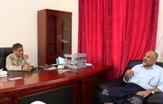 اخر اخبار اليمن - محافظ حضرموت يلتقي قيادة السلطة المحلية لمديريات الوادي والصحراء
