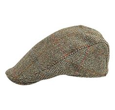 5e2713340ae Harris Tweed - Made in Scotland - The Dundee  Brad Pitt  Style Flat Cap -  made by Hanna Hats