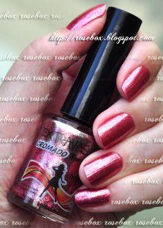 esmalte Extravasa cromado rosa