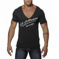 TS062 BASIC V NECK T-SHIRT Black V Neck T Shirt, Mens Tops, Shirts, Collection, Black, Fashion, Moda, Black People, Fashion Styles