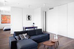 Квартира в современном стиле вдоме свысокими потолками — The Village