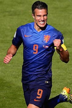 Robin van Persie (Netherlands) | The 23 Hottest Guys Left In The World Cup (Literally, the beautiful game ;) )