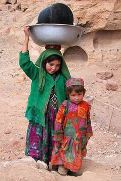 when I ask you to not waste water I explain in some countries there is not tap _ Bamiyan, Afghanistan (2011) | Mario Santana, UNESCO