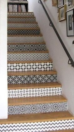tendance carreaux ciment carrelage adh sif pour escalier motif mexicain moonwallstickers. Black Bedroom Furniture Sets. Home Design Ideas