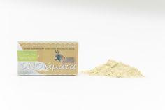 Handmade soap with donkey milk 23% and green clay (ONOiamata-Handmade cosmetics)