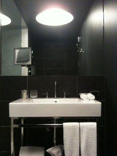 Gorgeoous bathroom in the Ames hotel in Boston. #ameshotel #boston #suitelife http://www.ameshotel.com/