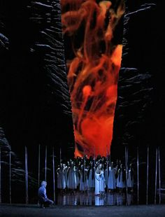 Scenes from the new production of Parsifal