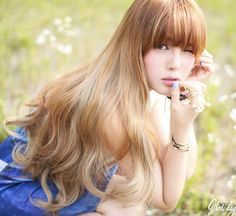 """Pony"" - Park Hye Min, model and makeup artist from Korea.  -Lily  #ulzzang…"