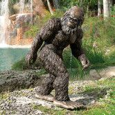 For Matt someday when he has his own place.  LOL! Found it at Wayfair - Bigfoot The Garden Yeti Statue
