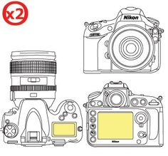 Martin Fields Overlay Plus Screen Protector Nikon D800 Twin Pack  Includes Top LCD Screen Protector -- Check this awesome product by going to the link at the image. (It is an affiliate link and I receive commission through sales)