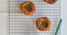 Ik heb nu een lekker recept voor hartige havermout muffins, met kaas en pesto.