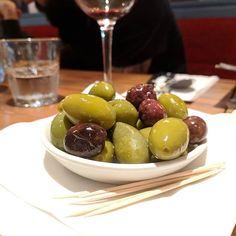 Mmmm my favourite apestiser olives